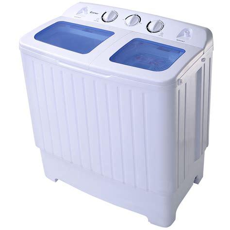 bathtub washing machine goplus portable mini compact twin tub 17 6lb washing