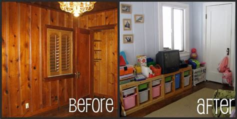 paneling before after before after pinterest painted paneling before after painted paneling pinterest