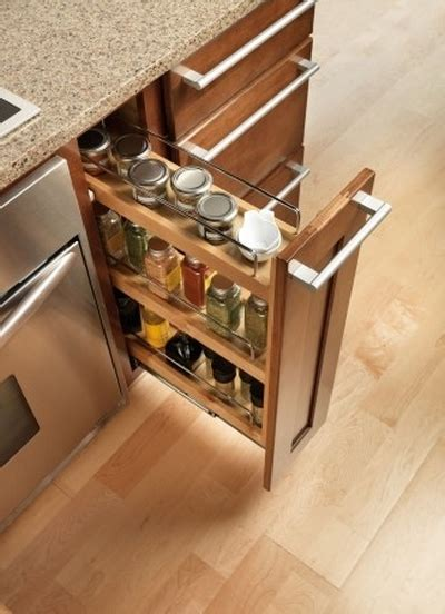 Kitchen Cabinet Pull Out Spice Rack by Roll Out Spice Racks For Kitchen Cabinets