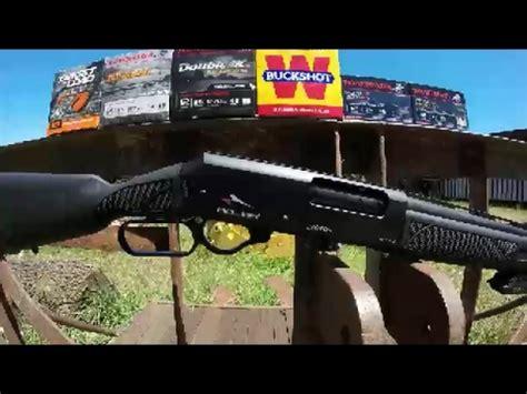 youtube shotgun pattern adler a110 12 gauge shotgun pattern test youtube
