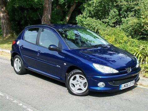 blue peugeot used 2006 peugeot 206 hatchback blue edition 1 4 verve 5dr