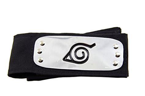 Headband Konoha quot hi no ishi quot symbol konoha headband black