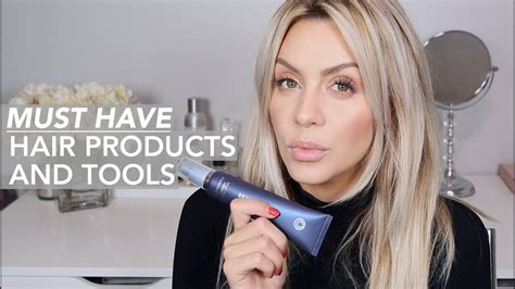 must have hair must have favorite hair products styling tools youtube