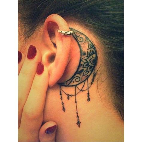 tattoo behind ear dangerous bodycraft nottingham behind the ear liked on polyvore