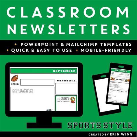 Best 25 Preschool Newsletter Templates Ideas On Pinterest Preschool Newsletter Parent Mobile Friendly Newsletter Templates
