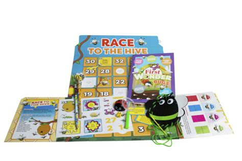 Mainan Edukasi Discover Bugs Wonders Of Learning Sticker Book Boxes