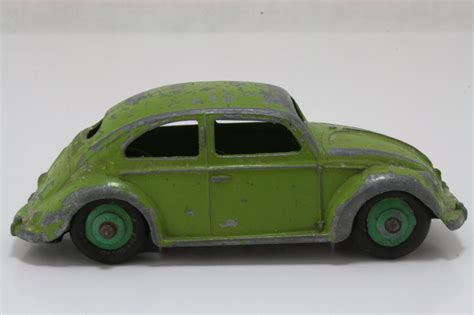 lime green volkswagen beetle dinky toys 181 volkswagen beetle sedan lime green green