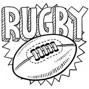 rugby coloring page kidspressmagazine com