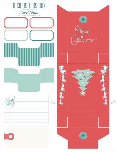 free printable templates for gift boxes 5 best images of box template printable free