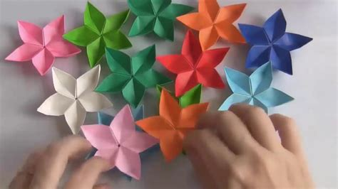 Flores De Origami - origami flores tutorial c 243 mo hacer flores de origami