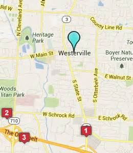 Westerville Ohio Map by Westerville Ohio Hotels Amp Motels See All Discounts
