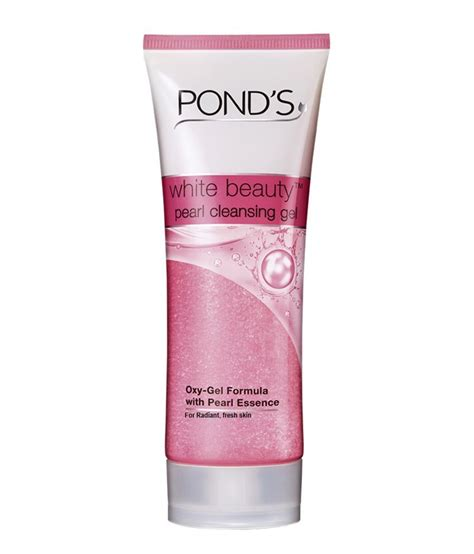 Ponds White Detox For Skin by Ponds White Pearl Cleansing Gel Toners Cleanser
