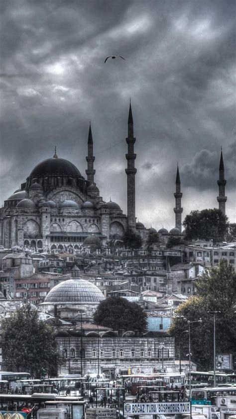 turkey istanbul hdr photography mosque eminonu wallpaper