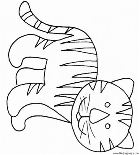 imagenes para pintar tigre tigre para dibujar facil imagui