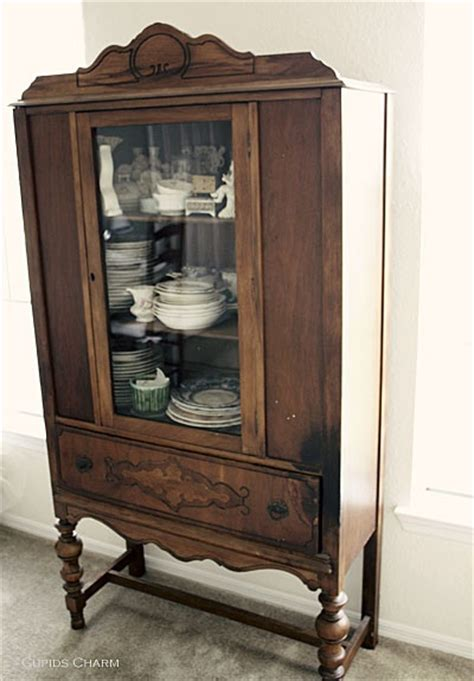 vintage china cabinet for the home