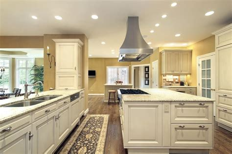 large kitchen island for large bright kitchen with matching island with stove
