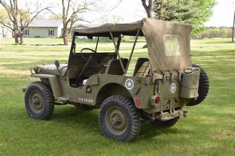 Jeep Cj2a For Sale Willys Jeep Cj2a Army Cj3a Cj5 Runs Drives Stops
