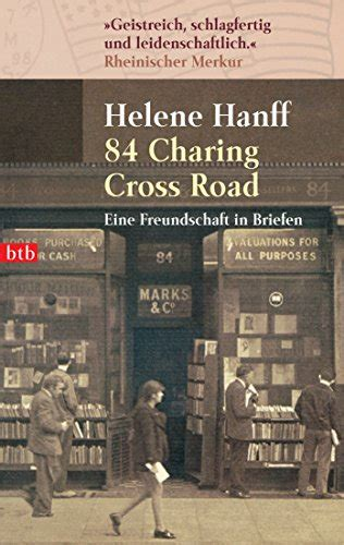 84 charing cross road b00v74rsty helene hanff 84 charing cross road eine freundschaft in briefen