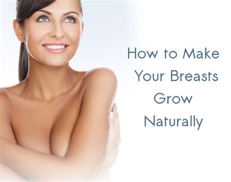 of how a breast grows