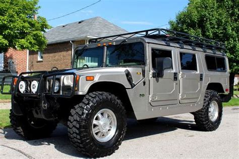 hummer h1 for sale canada purchase used 2002 hummer h1 wagon in stunning showroom