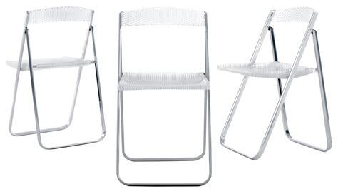 chaise pliante transparente chaise pliante honeycomb transparente polycarbonate