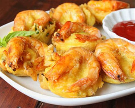 Minyak Goreng Dua Udang cara membuat resep bakwan udang goreng enak renyah