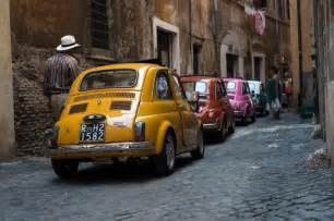 Different Fiat 500 Models Tour In Rome By Vintage Fiat 500