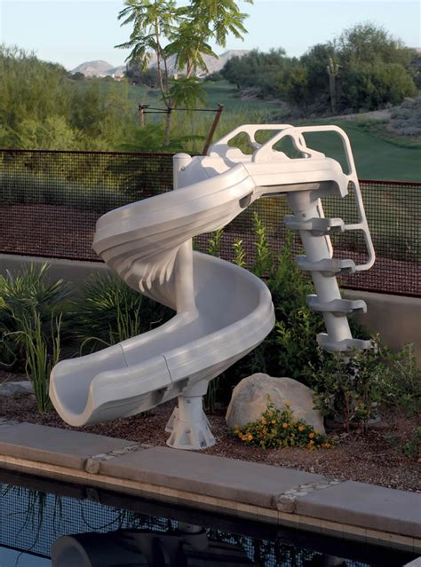 water slides for backyard pools pool slides for inground pools joy studio design gallery