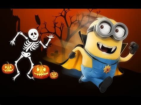 imagenes de halloween de los minions minions halloween movie youtube