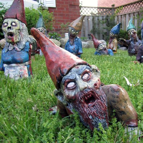 undead garden decor zombie lawn gnome top 10 zombie themed products for an undead economy mic