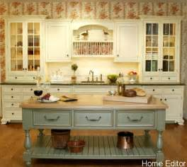 country kitchen islands 6 affordable ways to create a shabby chic kitchen