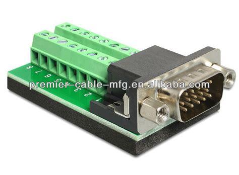 Konektor Db15 2 Baris Kabel Db 15 Cable Soket Socket db15 vga breakout out terminal block board