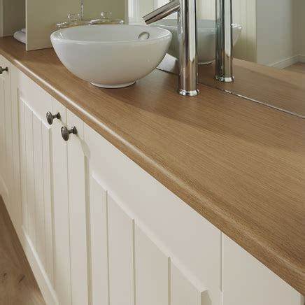 worktop bathroom bullnose matt laminate oak effect worktop howdens joinery
