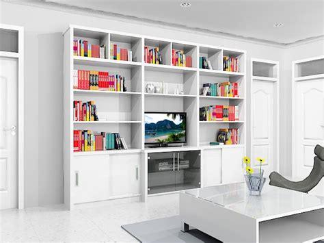 Rak Tv Panjang rak buku dan rak tv dian interior design