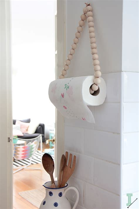 ida interior lifestyle diy paper towel holder