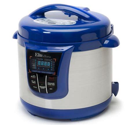platinum 4 quart electric stainless steel pressure cooker maximatic epc 808bl 8qt elite platinum digital stainless