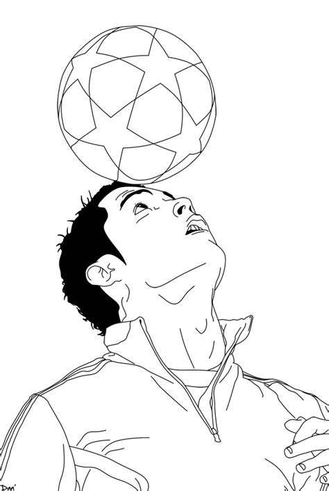 coloring pages ronaldo christiano ronaldo free coloring pages