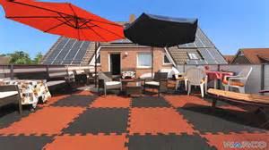 gummifliesen terrasse warco bodenbel 228 ge terrassenplatten fallschutzplatten