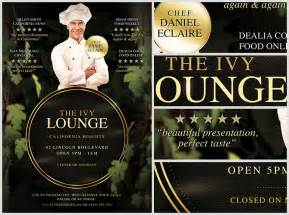 Home Design Pro Free Download the ivy lounge restaurant flyer template flyerheroes