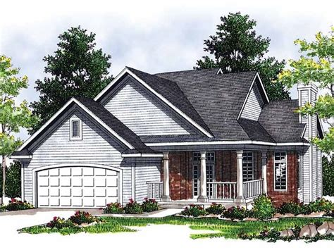 exceptional cottage style house plans 4 cottage house eplans cottage house plan cozy bungalow 1817 square