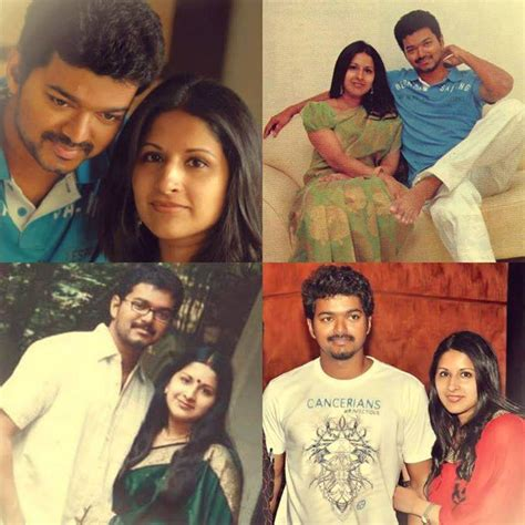vijay family photos latest actor vijay family member caste photo daughter mother father
