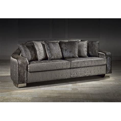 upholstered couch cushions ringo 3 seater upholstered fabric sofa with 6 cushions
