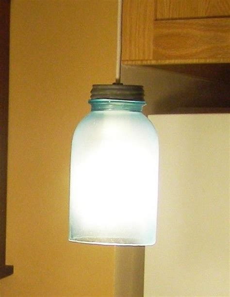 mason jar l shade mason jar l shade made by frosting a 1 5 quart mason