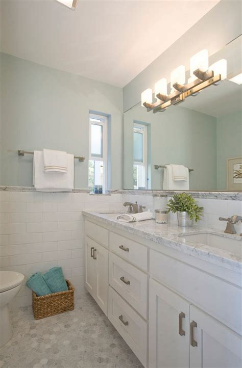 woodlawn blue bathroom popular paint color and color palette ideas home bunch