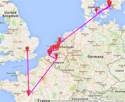 track my trip map one month in europe and track my tour review