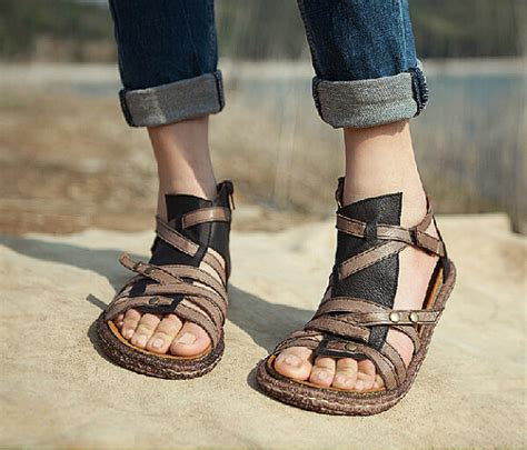 Womens Handmade Shoes - handmade s shoes leather sandals leather shoes