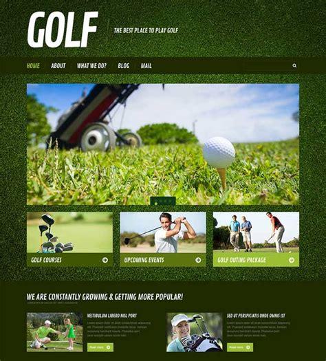 themes wordpress golf 10 best golf wordpress themes designmaz
