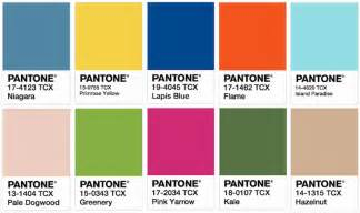 2017 pantone colors pantone names top 10 colors of spring 2017 based on ny fashion week printing impressions