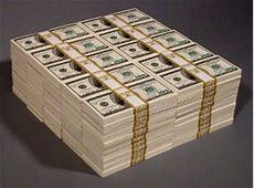 Million Dollar Prop Money Stacks and Piles $1000000 Bill