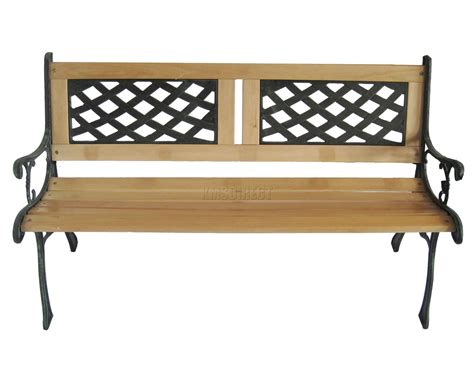 cast iron garden bench legs kms 3 seater outdoor wooden garden bench with cast iron